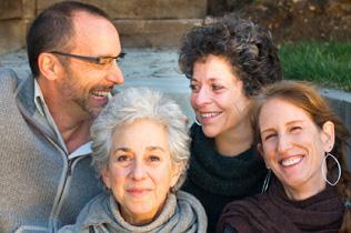 Open Floor International Founding Members, Vic, Cathy, Lori and Andrea