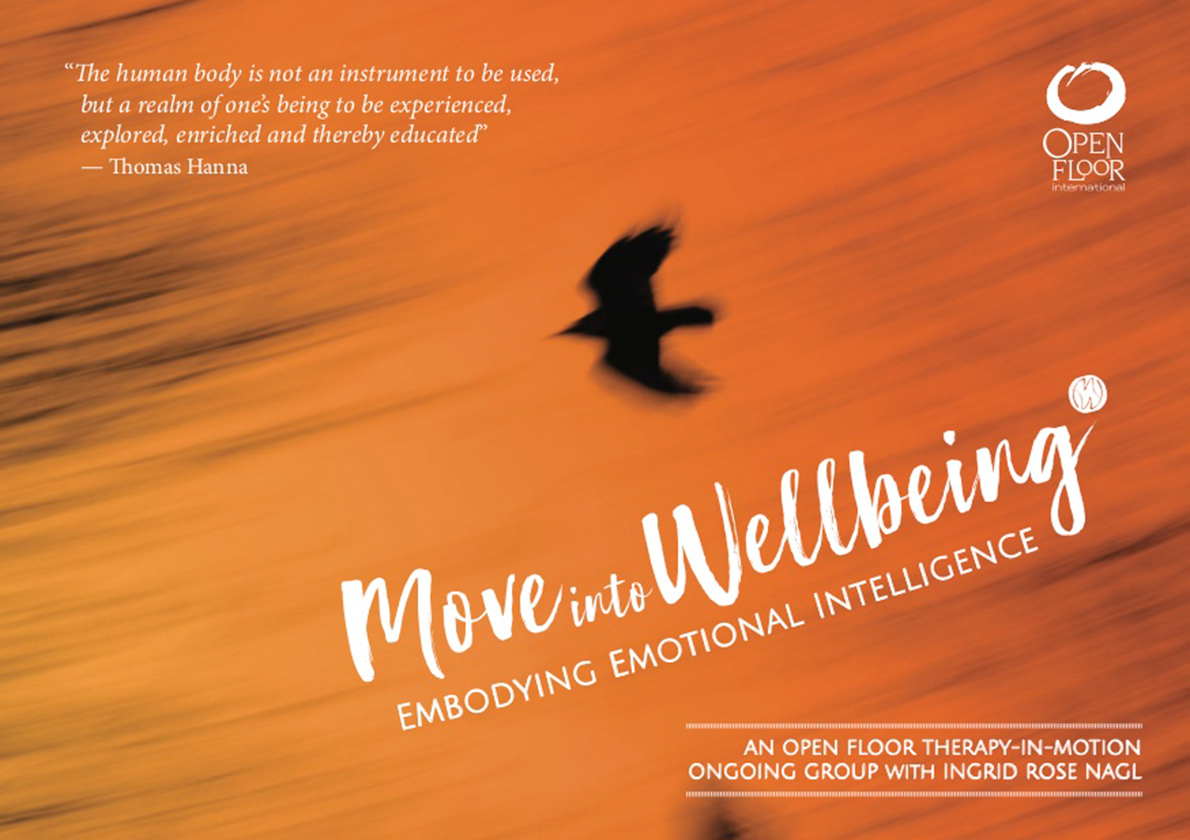 Move into Wellbeing Therapy in Motion Group Flyer