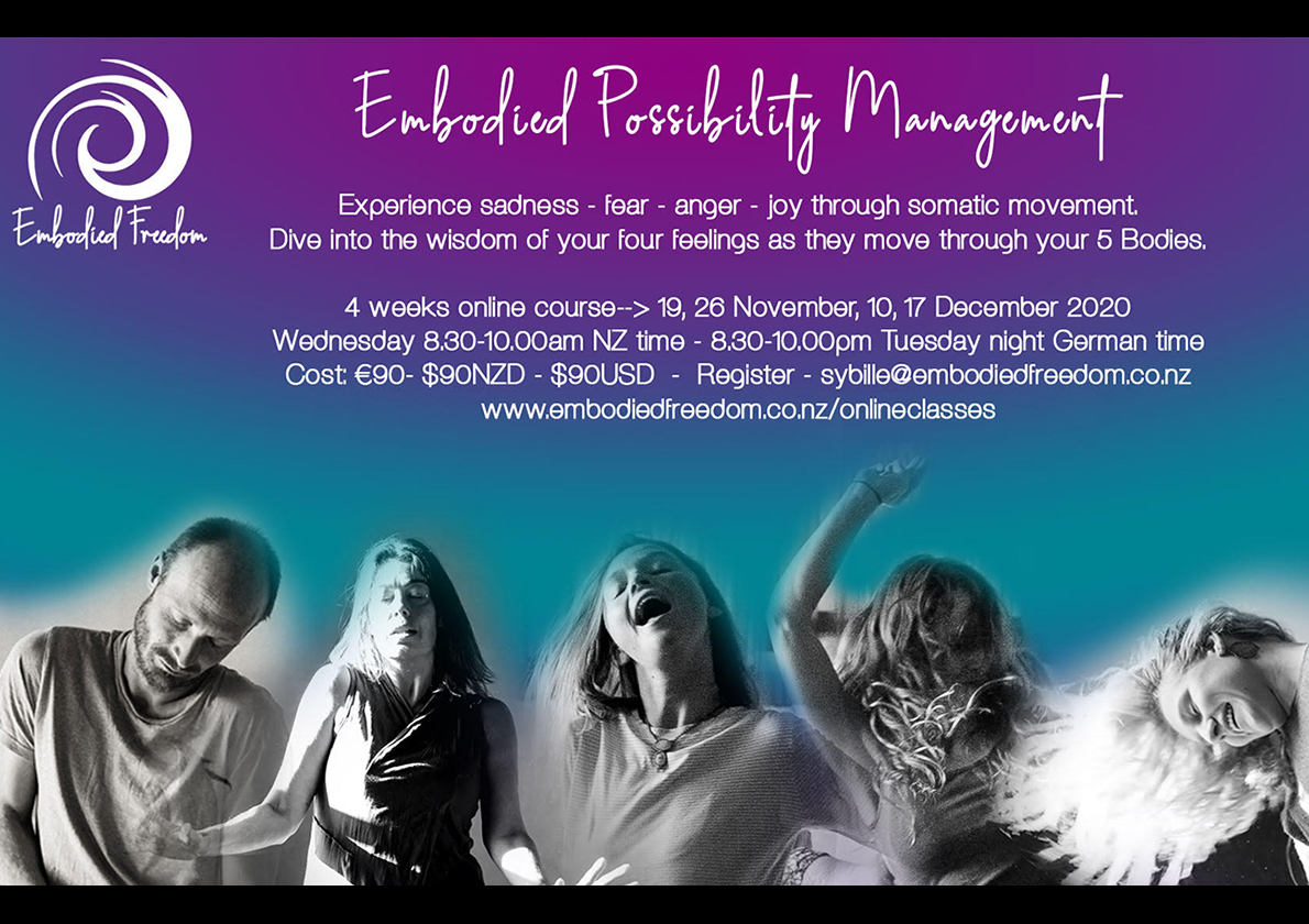 Embodied Possibility Management 4 weeks online