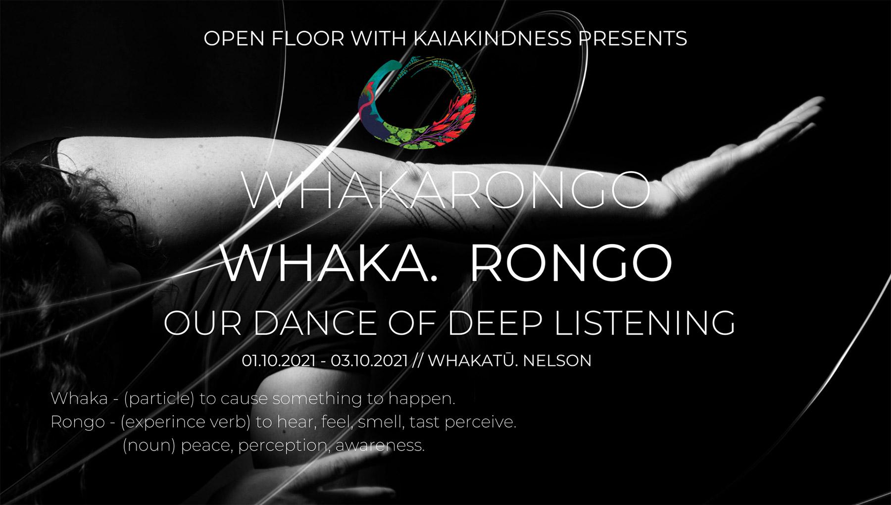 Whakarongo flyer